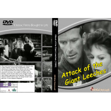Attack of the giant leeches DVD standard edition hddvdrevived