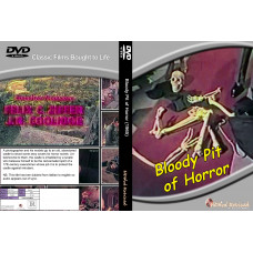 Bloody pit of horror (english dubs) DVD standard edition hddvdrevived