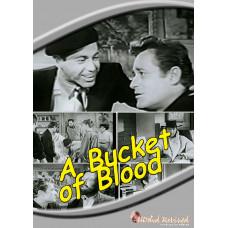 A Bucket of Blood - 1959 (DVD) - UK Seller