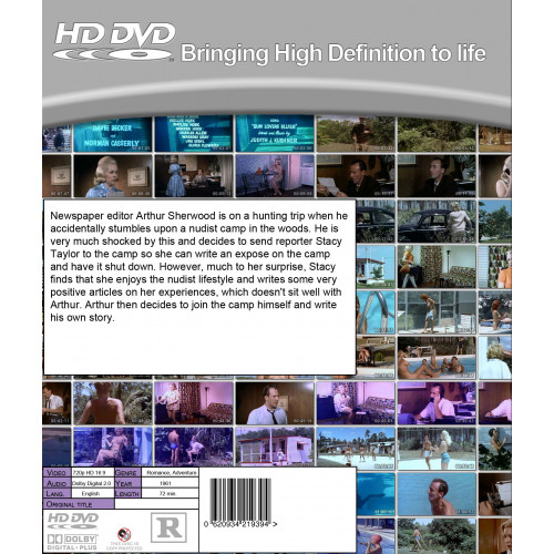 Diary Of A Nudist Hd Dvd