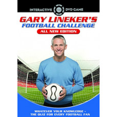 Gary Lineker's Football Challenge 2 - DVD Interactive Game [Interactive DVD] - Pre-Owned