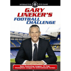 Gary Lineker's Football Challenge [DVD] - Pre-Owned