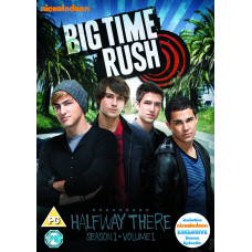 Big Time Rush: Season 1 Volume 1 - Halfway There [DVD] - PRE-OWNED