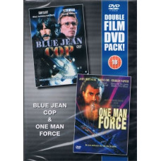 Blue Jean Cop & One Man Force - DVD - Pre Owned