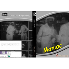Maniac Dvd standard edition hddvdrevived