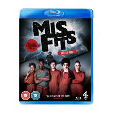Misfits Series 2 [Blu-ray]- Pre-owned