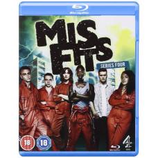 Misfits - Series 4 [Blu-ray]- Pre-owmed