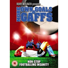 More Own Goals and Gaffs [DVD]  - Pre-owned