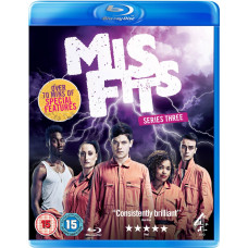 Misfits - Series 3 [Blu-ray]- Pre-owned