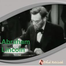 Abraham Lincoln - 1930 (VCD) - UK Seller