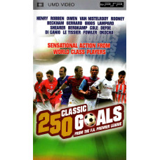 250 Classic Goals From The F.A. Premier League (UMD Mini for PSP - Pre-owned - UK Seller