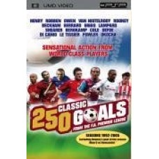 250 Classic Goals From The F.A. Premier League [UMD Mini for PSP]- Pre-owned