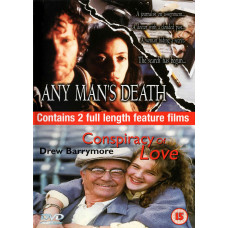 2 Full Length Movies - Any Man's Death and Conspiracy Of Love - Pre-owned - UK Seller