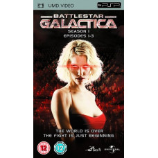 Battlestar Galactica - Series 1 (Episodes 1-3) [UMD Mini for PSP]- Pre-owned