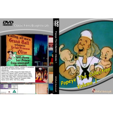 Popeye The Collection: Volume 1 standard DVD