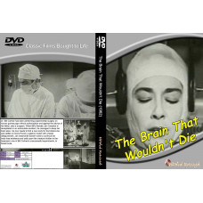 The brain that wouldn't die DVD standard edition hddvdrevived