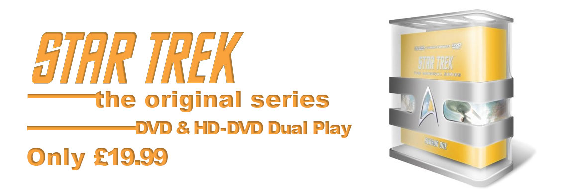 Star trek the original series on HDDVD